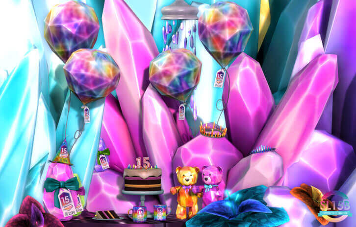 Second Life: The Big 15th Birthday Weekly Gift Grab