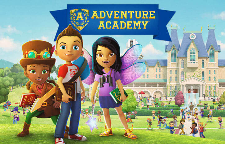Learn the Sciences, Math, English and More with Adventure Academy!