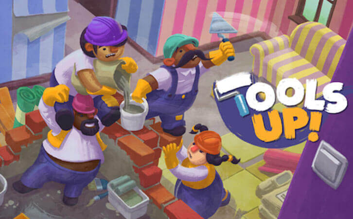 Tools Up! constructs fun couch co-op for every skill level, to premiere in December!