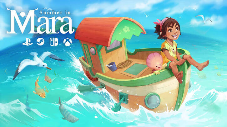 Farm, craft, and explore the tropical archipelago of Summer in Mara this Spring on Nintendo Switch and PC!