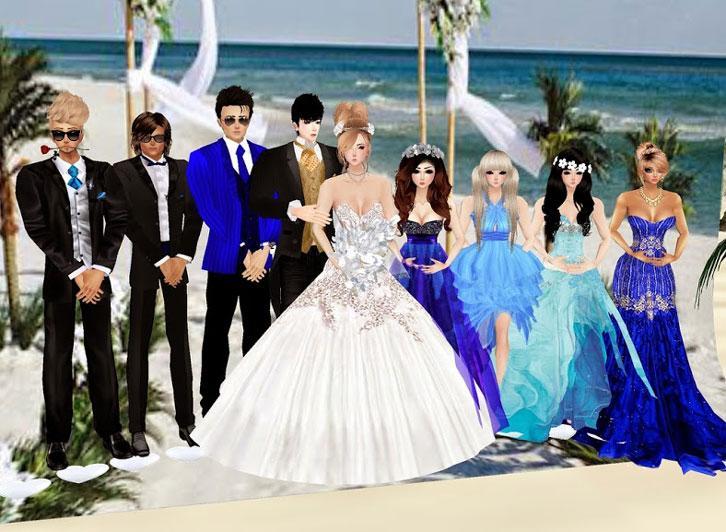 Fabulous Wedding Gowns in IMVU