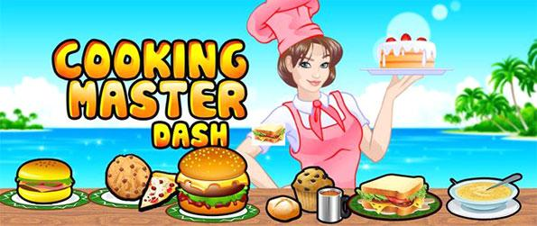 Cooking Master Dash - Sharpen up your cooking skills in this epic game Cooking Master Dash.