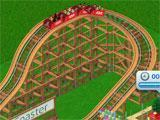 RollerCoaster Tycoon 4 Mobile building a rollercoaster track