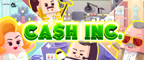 Cash, Inc. Fame & Fortune Game - Immersive, fun and a great way to spend your time learning how a business can grow and expand through a clicker and Idle game.