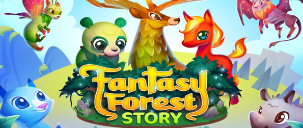 Fantasy Forest Story - Hatch magical creatures from eggs and help them grow and evolve in Fantasy Forest Story!