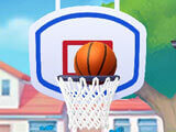 Shooting some hoops in My Talking Tom 2