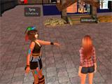 Second Life: meeting friends