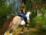 riding in a grove in Star Stable