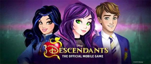 Disney Descendants - Chill out with the Villain Kids, Mal, Evie, Jay and Carlos in Disney Descendants!