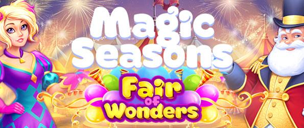 Magic Seasons: Fair of Wonders - Collect stars to level up and help the inhabitants while improving the objects from each glade. Unlock and complete all the quests in this magical world of seasons!