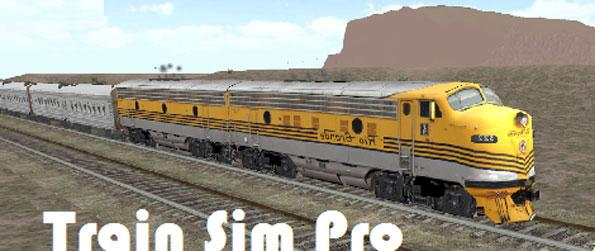 Train Sim - Immerse yourself in this highly realistic train simulator game.