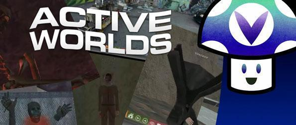 Active Worlds - Maybe outdated but still awesome, fun and definitely active.