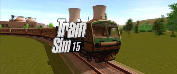 Train Sim15 - Chug your way through the countryside on your choo choo train in this immersive fun filled train driver simulator