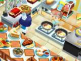 Serving customers in Restaurant Story 2