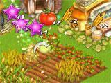 Harvesting crops in Farm Tribe 3: Floating Island