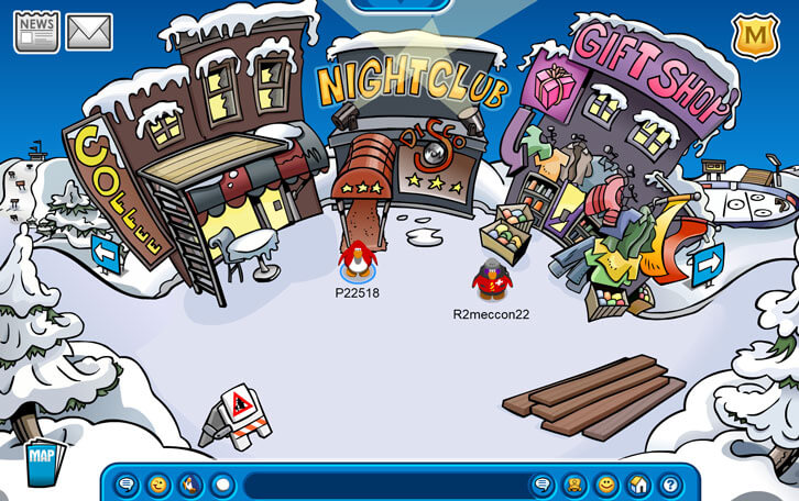 Club Penguin Universe