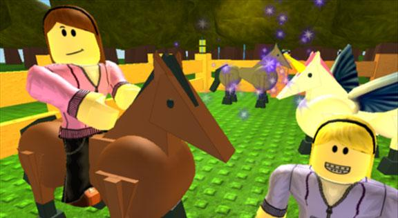Horseback Riding in Roblox