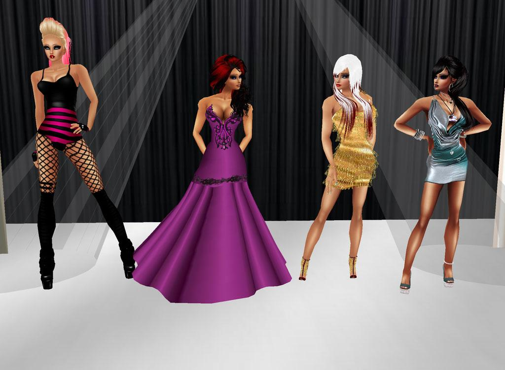 The Fashion Of Imvu Virtual Games Online Virtual Worlds Land