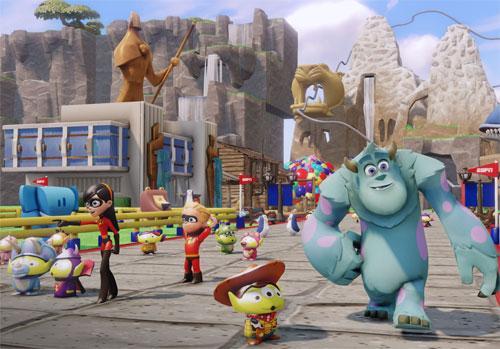 Try Disney Infinity: Toy Box