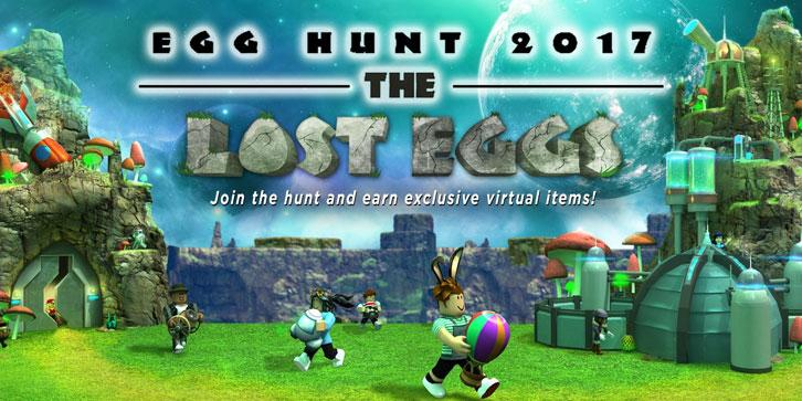 The Roblox 2017 Egg Hunt Begins!