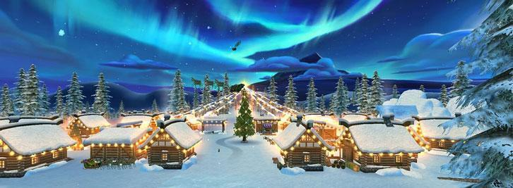 Visit The Christmas Village in Star Stable