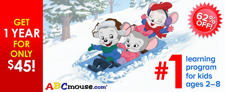A Great Ho-Ho-Holiday Sale from ABCmouse!