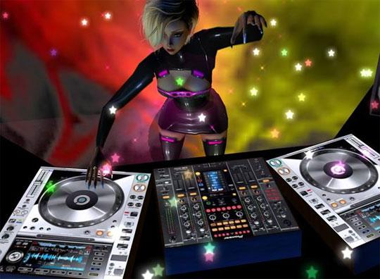 Be a DJ in IMVU