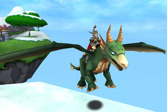 Explore Wizard 101 From the Back of A Dragon!