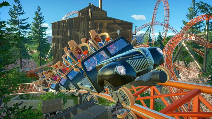 Planet Coaster Classic Rides Collection and New Free Coaster Launched Today