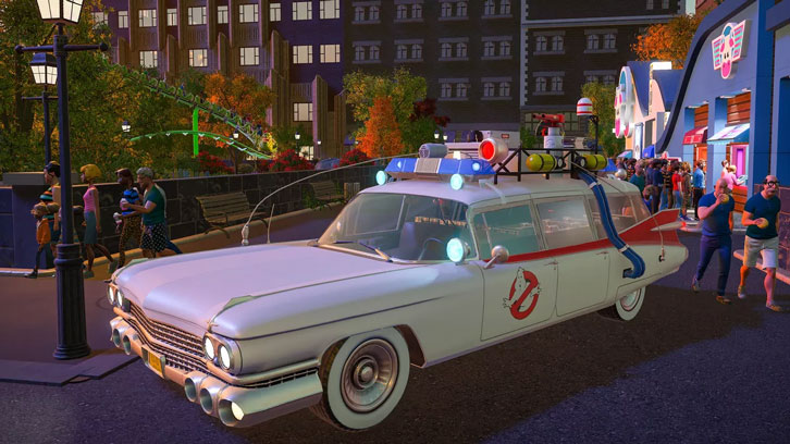 Planet Coaster: Ghostbusters DLC pack to arrive for PC