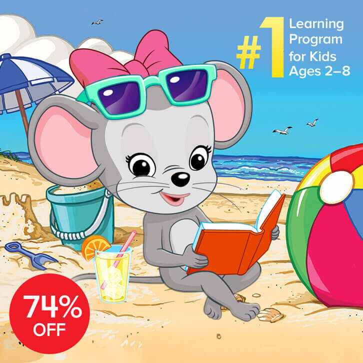 Avoid the Summer Slide with ABCmouse, Now with a 74% Discount!