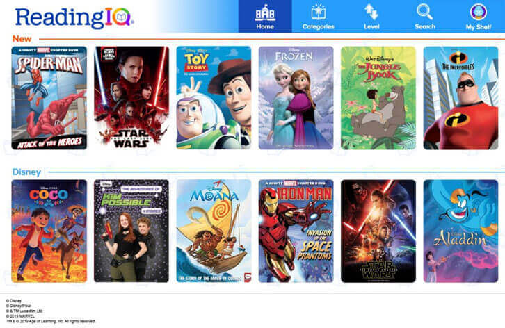 Age of Learning Brings Comprehensive Disney Publishing Worldwide Library of Beloved Children's Stories to ReadingIQ, ABCmouse, and Adventure Academy