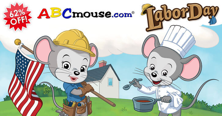 Fantastic Labor Day Discount for ABCmouse
