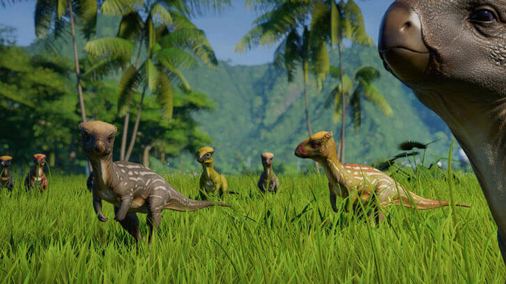 Three New Dinosaurs Arrive in Jurassic World Evolution: Herbivore Dinosaur Pack Today