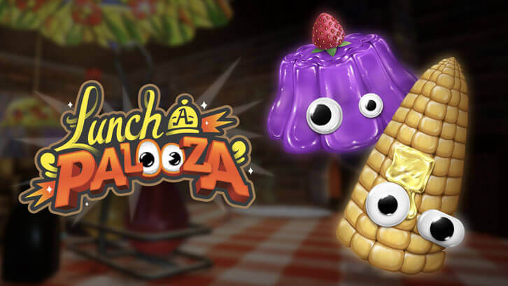 Frenetic Fun Filled Food Frolic: Lunch A Palooza now on Steam Early Access