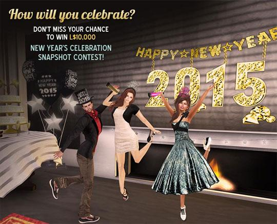 Celebrate in Style and win L$10,000 in Second Life