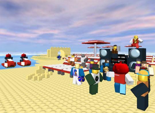 Roblox Virtual Worlds Land Page 2