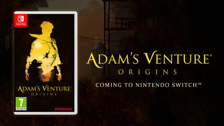 Adam's Venture: Origins is making its way to Nintendo Switch