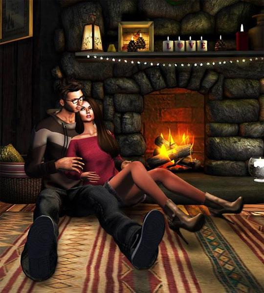 Spend Time Together in Second Life