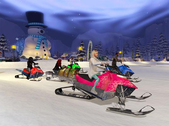 Winter Sports in Second Life