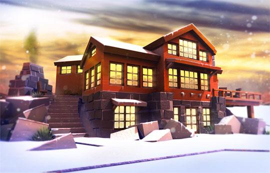 Build a Winter Paradise in Roblox