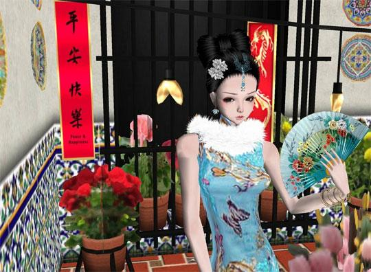 Experience the Asian Look in IMVU