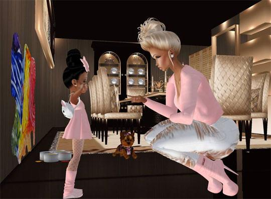 Fun Family Time in IMVU