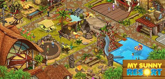 New Location in My Sunny Resort