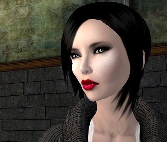 Vamp it up for Halloween in Second Life