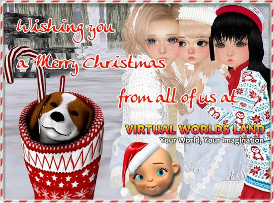 Merry Christmas and a Happy New Year from Virtual Worlds Land