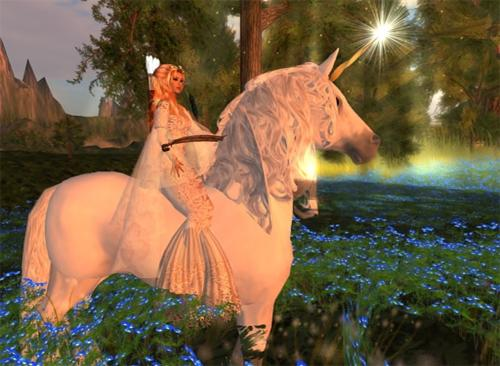 Second Life Horse Riding