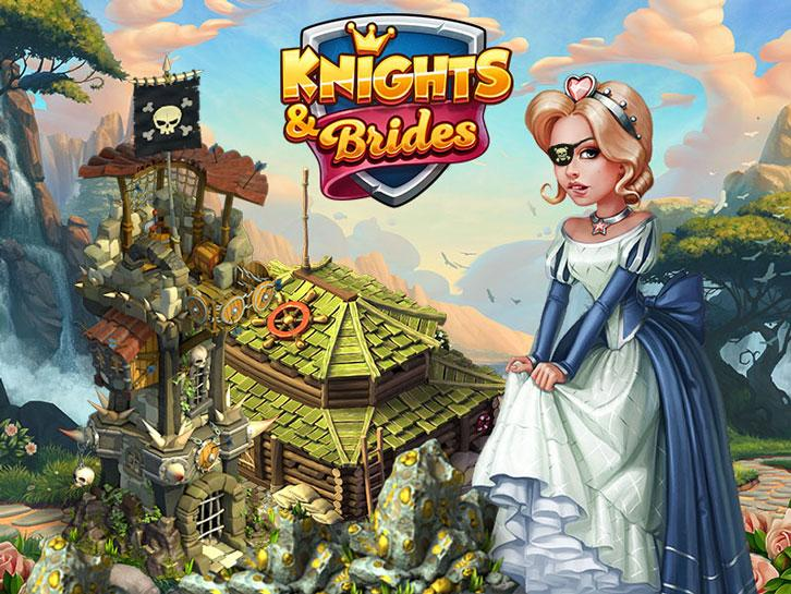 Head to Treasure Island in Knights and Brides
