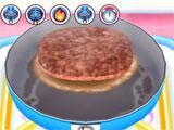 Cooking Mama Lets Cook preparing a steak