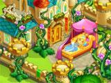 the sleeping princess in Magic Country Fairytale Farm